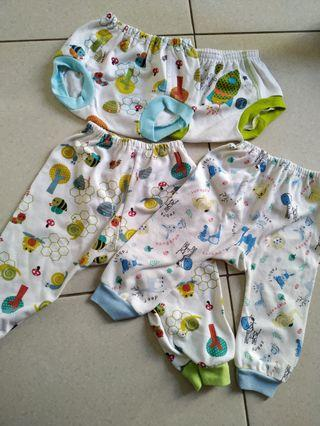 4pc celana bayi (2pop 2pjg)