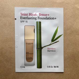 Clarins Everlasting Foundation+ 持久無瑕粉底液 試用sample