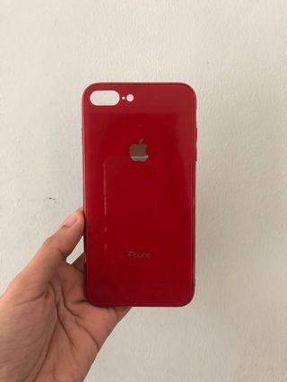Case iphone 7+/8+ Apple Glass