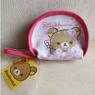 Rilakkuma 鬆弛熊 粉紅色 散子包 零錢袋