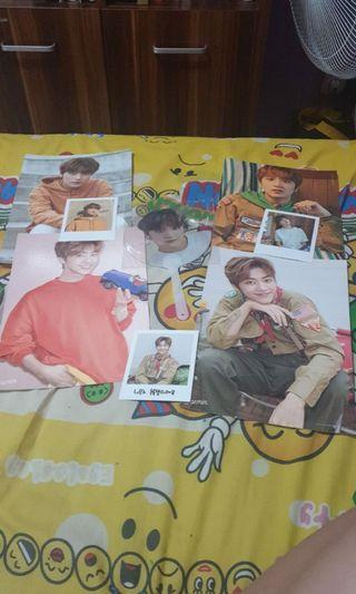 NCT Dream Summer Vacation Package Jaemin Haechan Fan Photocard dan Poster