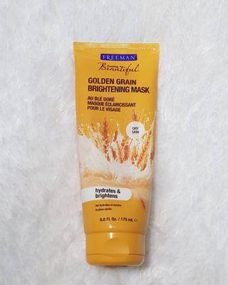 Freeman Golden Grain Brightening Mask #lalamovecarousell