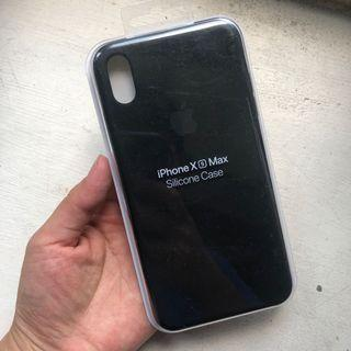 Apple iPhone Xs Max silicone Case black 黑色 手機殼 全新