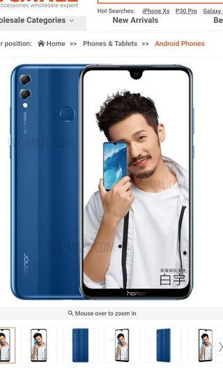 BN Huawei honor 8x Max 64GB/4GBRAM 7.12inch with glass and tpu casing with $50