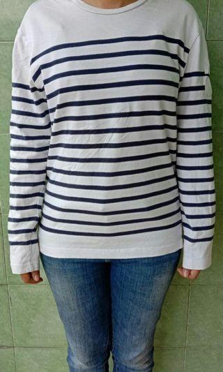 Long sleeve stripe