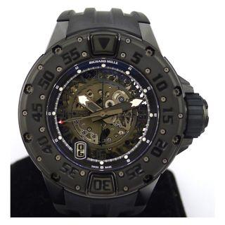 Richard Mille RM028 Diver All Black Limited Edition New Unworn