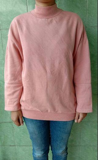 Sweater / long sleeve dusty pink