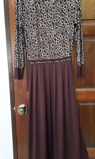 Dress [Dark Choc n Cream]