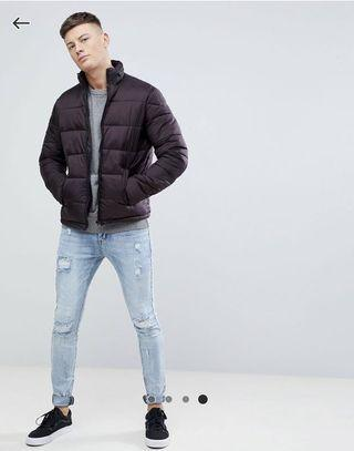 New Look Puffer Jacket w concealed hood