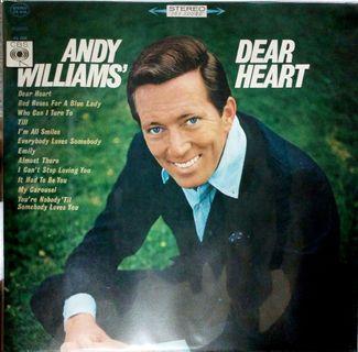 ANDY WILLIAMS' Vinyl Record