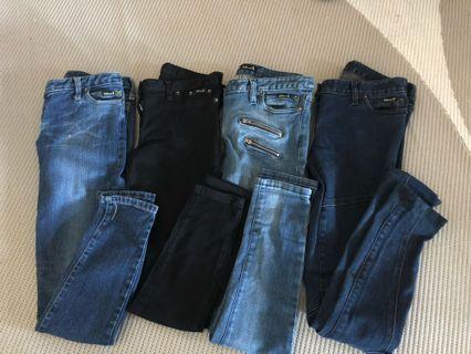 Bardot denim pants- bundle