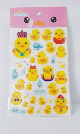 鴨仔 貼紙 Not B.Duck