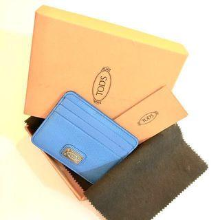 TODs leather card holder