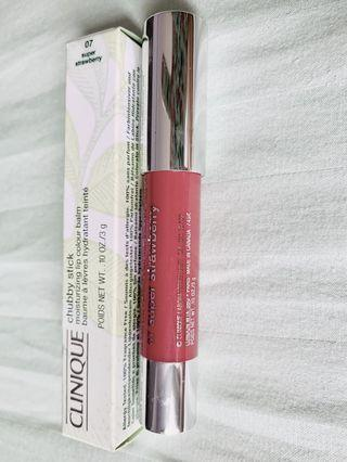 Clinique chubby stick super strawberry (full size)