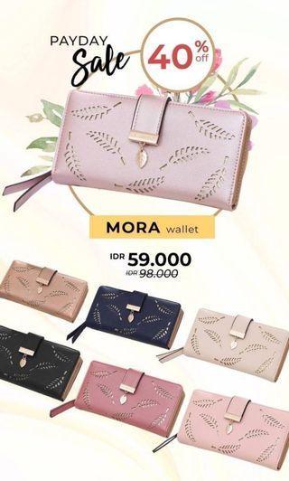 SALE mora wallet/dompet wanita termurah