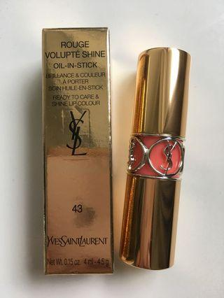 YSL唇膏 lipstick 43