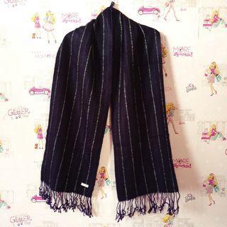(NEW) Shawl Wool Purple
