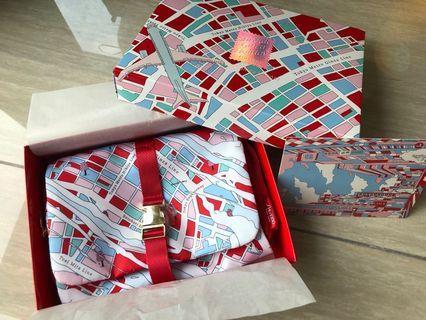 Shiseido Ginza Tokyo Holiday Travel Makeup Cosmetic Bag 化妝袋 Gift