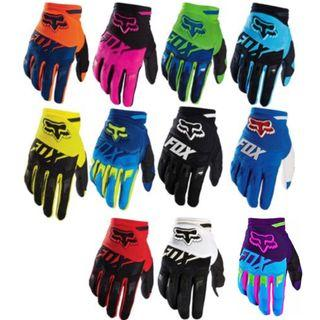 Many Colours/Designs Fox Full Sleeved Motorcycle Riding Gloves