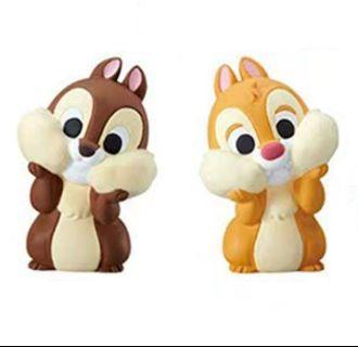 日本 迪士尼 disney friends chip dale 大鼻鋼牙
