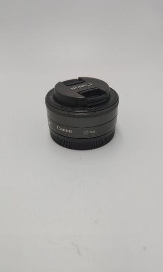 Canon 22mm F2 STM over90%new