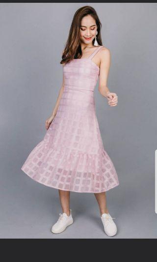 OHVOLA PINK DRESS