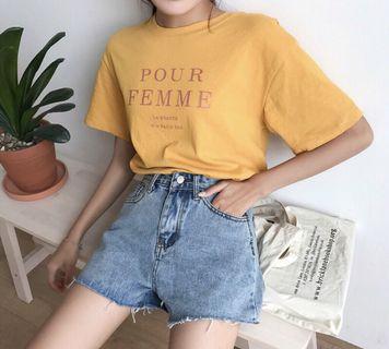 🚚 牛仔短褲(腰圍72/臀圍96/大腿60/褲長29)