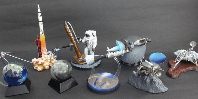 🛰🌎100%全新 王立科學博物館 The Royal Museum of Science 太空模型擺設 Space Models 全套8款