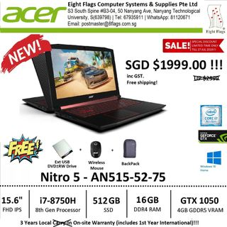 acer nitro 5 | Deals & Promotions | Carousell Singapore