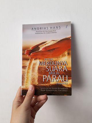 Buku Ketika Merdunya Suara Mulai Parau (Kemarau) - Andrias Hans books