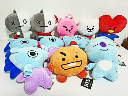 BT21 - Plushies! (Unofficial)