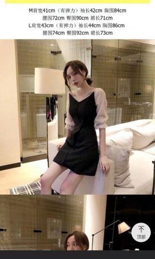 晚裝小洋裝