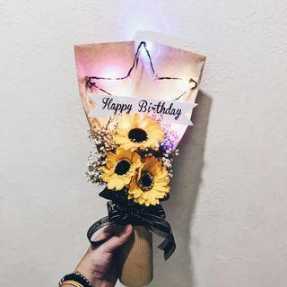 Birthday Soap Sunflower Bouquet