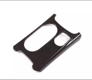 Mercedes Benz Cup Holder Carbon Fiber And Chrome Trim