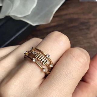 Dior戒指 中指戒 食指戒