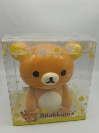文具類: 2011 Rilakkuma ceramin Jar with gummy鬆弛熊陶瓷擺設收納