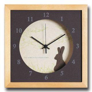 【日本🇯🇵預購】北歐風動物掛鐘 |Northern Europe Style Rabbit Clock