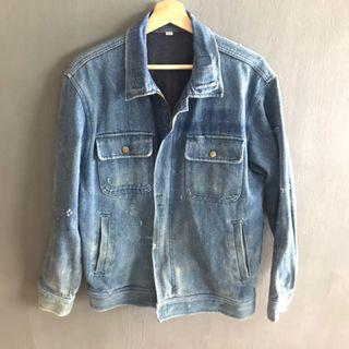 VINTAGE WORKWEAR DENIM JACKET