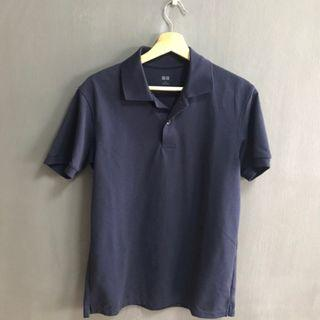 🚚 UNIQLO  NAVY BLUE POLO (X2)