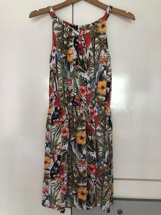 Nature Floral Casual Dress