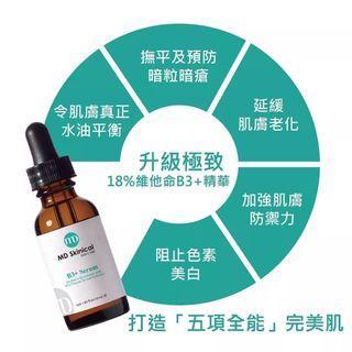 (包郵) MD Skinical B3 serum 升級極致18%維他命B3+精華 30ml