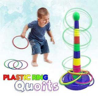 Plastic Ring Quoits