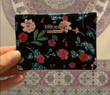 Kate spade floral cardholder