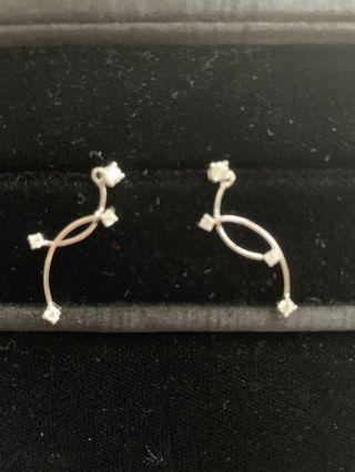 機場珠寶店的耳環