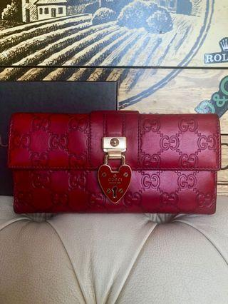 Gucci wallet.85% new.100% Authentic
