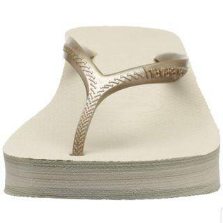 🌈SUPER RARE🌈 Havaianas Women's High Fashion Sandal, Beige