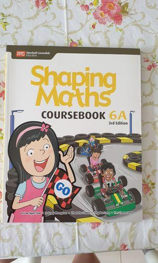 MC Shaping Maths Coursebook 6A 3rd Edition