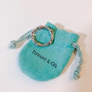Tiffany & Co. bamboo sterling sliver ring銀戒指