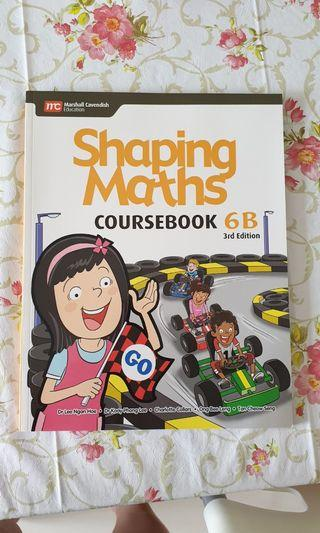 MC Shaping Maths Coursebook 6B 3rd Edition
