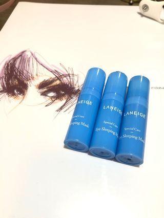 Laneige Eye sleeping mask 睡眠眼模 5ml x 3